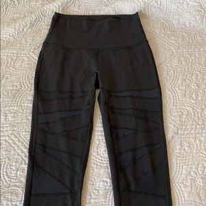 Lululemon wunder under mesh leggings